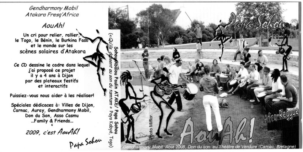 Don du Son, Art Station à Dijon. Papa Sohou, pochette CD