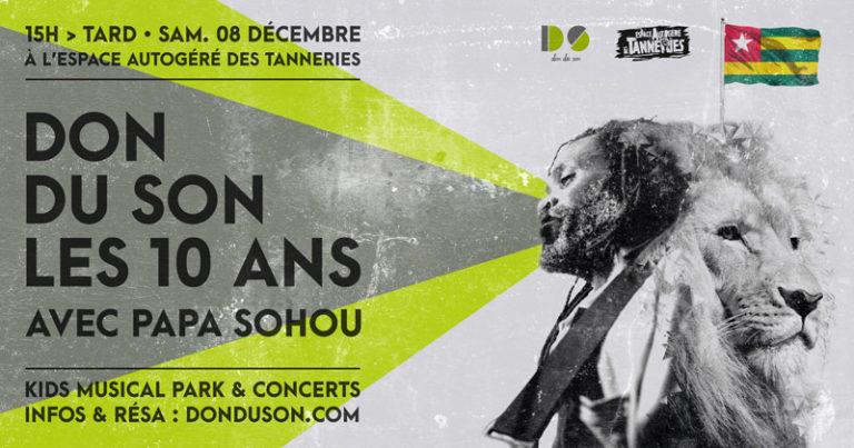 10 ans de Don du Son <br/>Le concert • 8 déc. 2018
