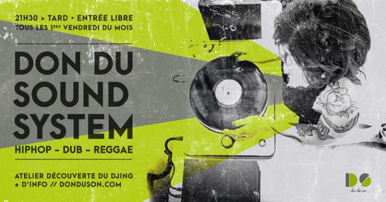 Don du Soundsystem <br/>Du nouveau !