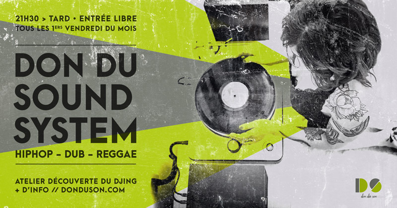 Don du Soundsystem <br/>Du nouveau !